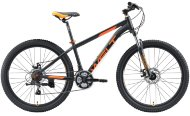 Велосипед Welt Peak 26 Disc 2020 Matt Black/Orange