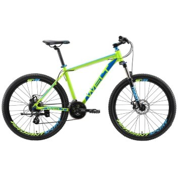 Велосипед Welt Ridge 2.0 D 2019 acid green/blue (US:L)